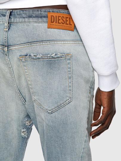 Diesel - Fayza 09A04, Blu Chiaro - Jeans - Image 3