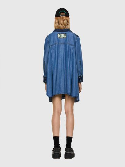 Diesel - DE-NILLA, Blu Chiaro - Camicie in Denim - Image 6