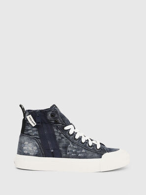 S-ASTICO MID ZIP W, Blu Jeans - Sneakers