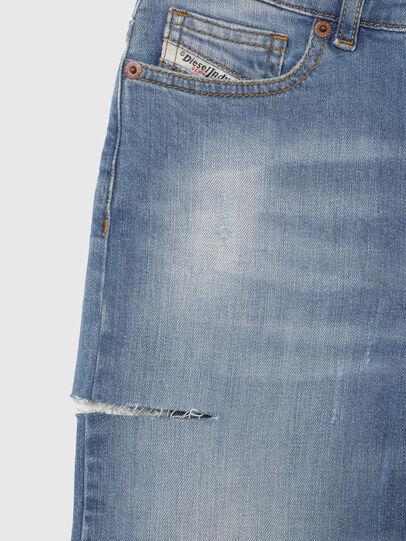Diesel - WIDEE-J-SP1, Blu Chiaro - Jeans - Image 3