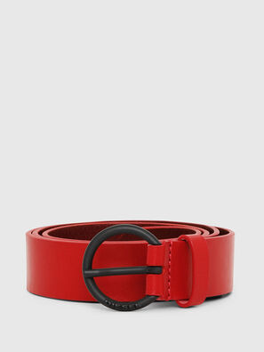 B-RING, Rosso Fuoco - Cinture