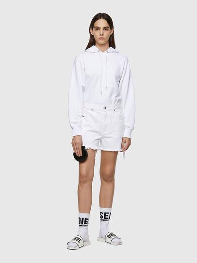 Diesel - DE-REG-R, Bianco - Shorts - Image 5
