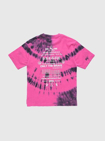 Diesel - TJUSTSLITSX86 OVER, Rosa - T-shirts e Tops - Image 2