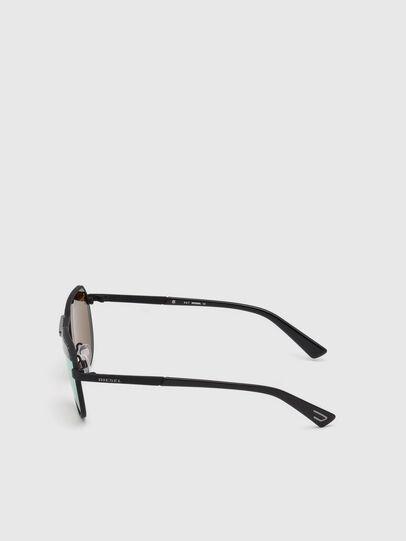 Diesel - DL0260, Nero - Occhiali da sole - Image 3