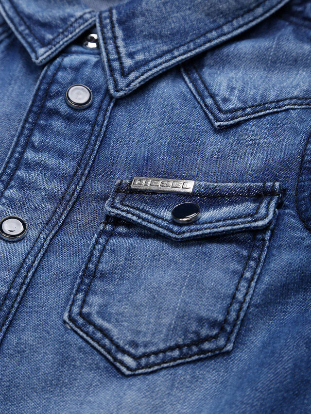Diesel - CITROB, Blu Jeans - Camicie - Image 3