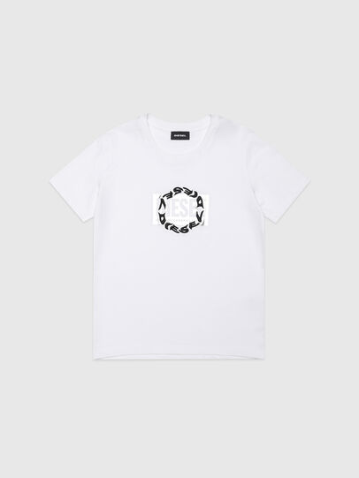 Diesel - TSILYRSUC, Bianco - T-shirts e Tops - Image 1