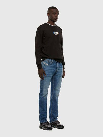 Diesel - Larkee 009DB, Blu medio - Jeans - Image 5