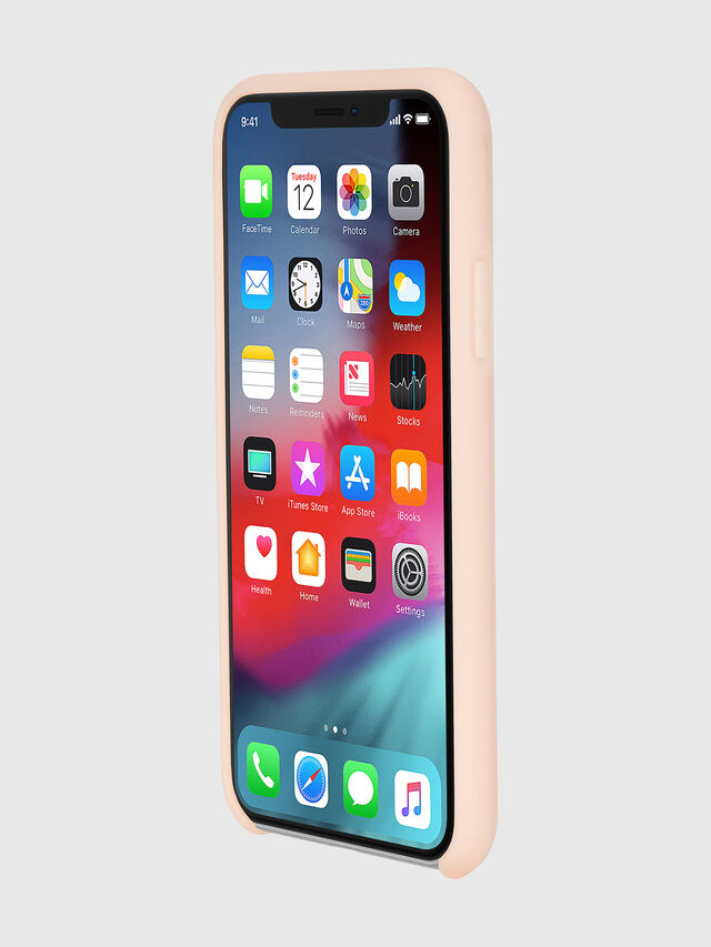 Diesel - DIESEL PRINTED CO-MOLD CASE FOR IPHONE XS & IPHONE X, Cipria - Cover - Image 3