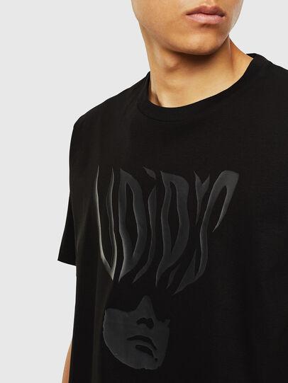 Diesel - T-JUST-J10, Nero - T-Shirts - Image 3