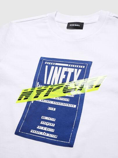Diesel - TJUSTY7, Bianco - T-shirts e Tops - Image 3