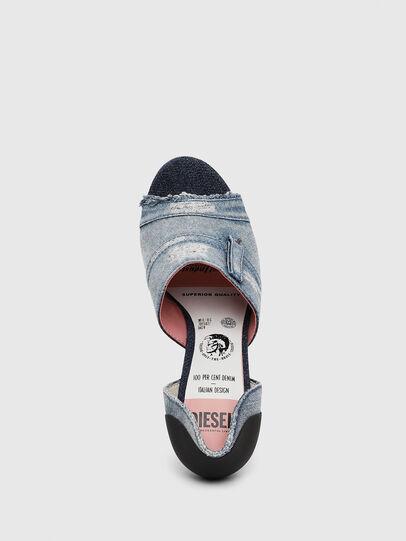 Diesel - SA-SLANTY OTD, Blu Jeans - Sandali - Image 5