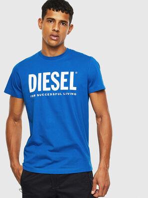 T-DIEGO-LOGO, Blu Chiaro - T-Shirts