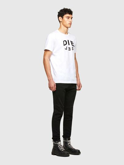 Diesel - T-DIEGOS-A1, Bianco - T-Shirts - Image 4