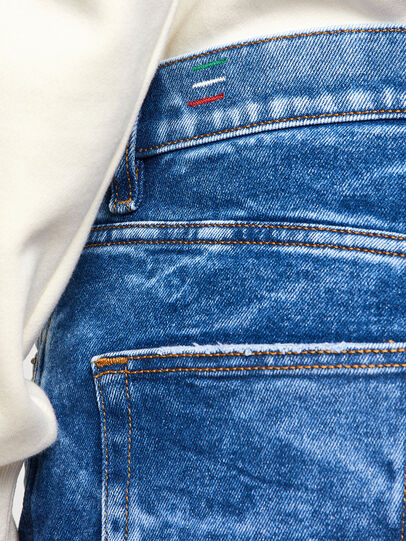 Diesel - D-Strukt 009MH, Blu Chiaro - Jeans - Image 4