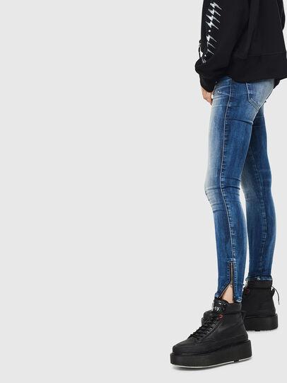 Diesel - Slandy Low 0095C, Blu medio - Jeans - Image 2