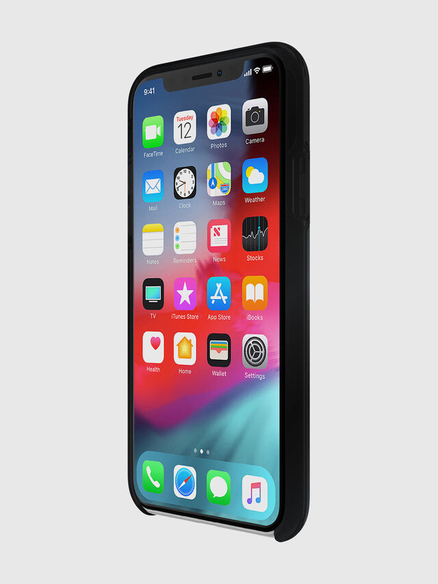 Diesel - DIESEL PRINTED CO-MOLD CASE FOR IPHONE XS & IPHONE X, Nero - Cover - Image 3