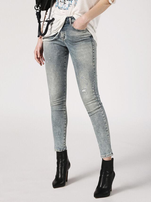 SLANDY 0699B, Blue Jeans