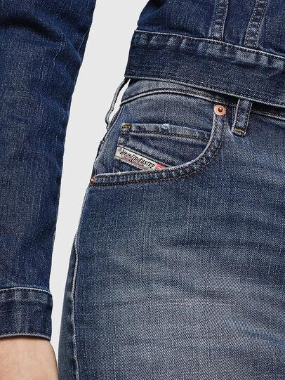 Diesel - DE-EISY, Blu Jeans - Gonne - Image 3
