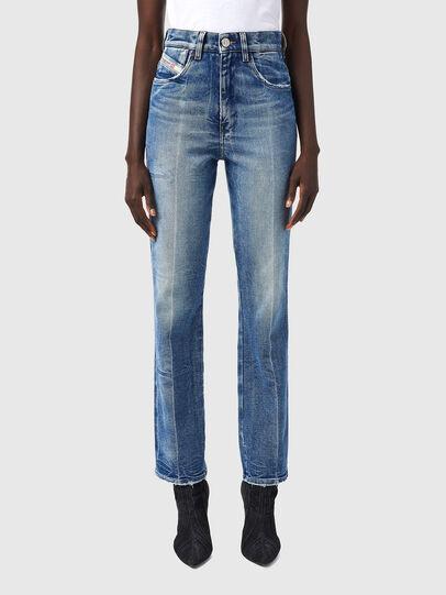Diesel - D-Arcy 09A26, Blu medio - Jeans - Image 1