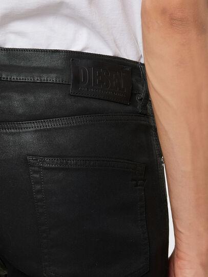 Diesel - D-Strukt JoggJeans 069QX, Nero/Verde - Jeans - Image 4
