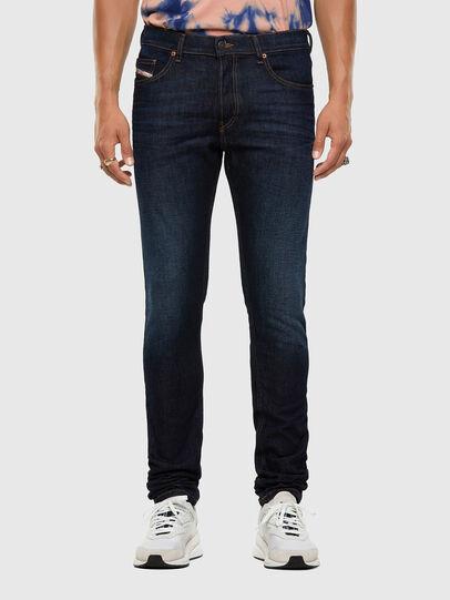 Diesel - D-Luster 009EQ, Blu Scuro - Jeans - Image 1