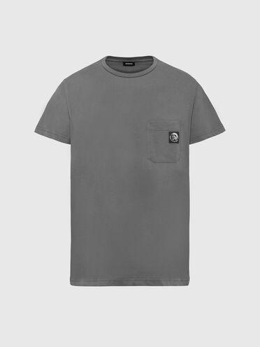 T-shirt con applicazione Mohawk