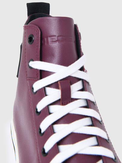 Diesel - S-ASTICO MID CUT, Viola Scuro - Sneakers - Image 5