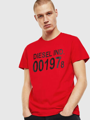 T-DIEGO-001978, Rosso - T-Shirts