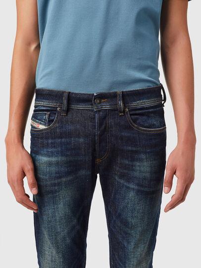 Diesel - Sleenker 09B07, Blu Scuro - Jeans - Image 3