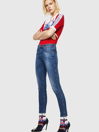 Diesel - Babhila 069FZ, Blu medio - Jeans - Image 5
