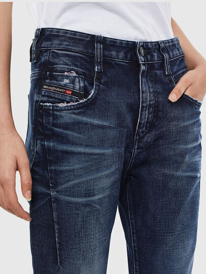 Diesel - Fayza 009BY, Blu Scuro - Jeans - Image 3