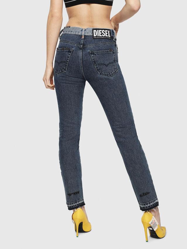 Diesel - Mharky 0077Z, Blu medio - Jeans - Image 2