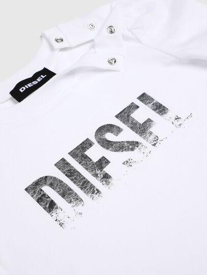 Diesel - TRALLYB, Bianco - T-shirts e Tops - Image 3