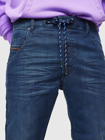 Diesel - Krooley JoggJeans 0098H, Blu medio - Jeans - Image 5
