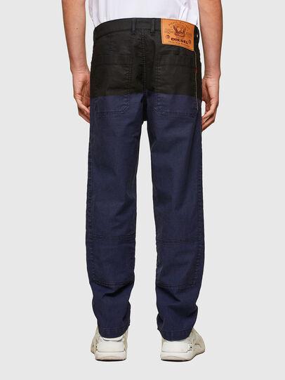 Diesel - D-Azerr JoggJeans® 0DDAY, Blu Scuro - Jeans - Image 2