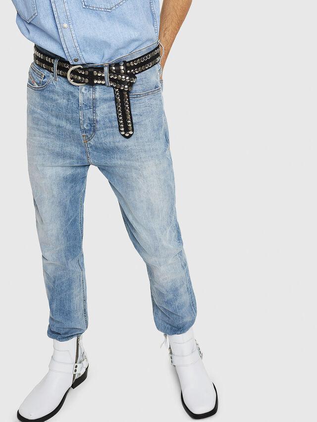 Diesel - D-Vider 081AL, Blu Chiaro - Jeans - Image 4