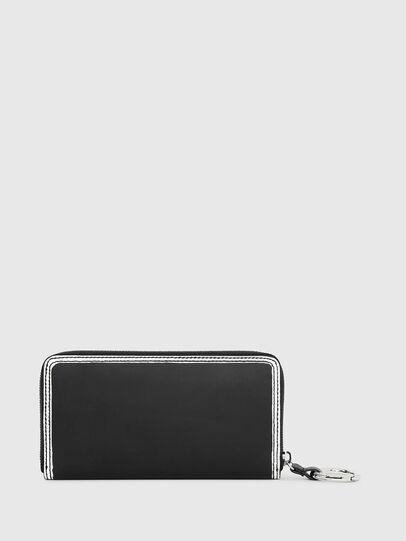 Diesel - GRANATO LC, Nero/Bianco - Portafogli Con Zip - Image 2
