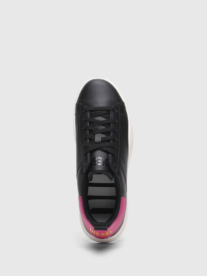 Diesel - S-CLEVER LOW LACE W, Nero/Rosa - Sneakers - Image 5