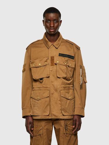 Field jacket Green Label multitasche