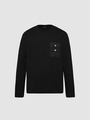 T-TASK-LS, Nero - T-Shirts