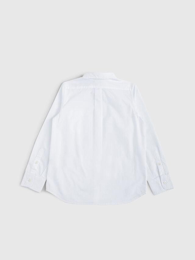 Diesel - CSMOI, Bianco - Camicie - Image 2