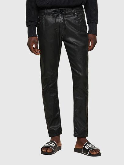 Diesel - Krooley JoggJeans® 0849R, Nero/Grigio scuro - Jeans - Image 1