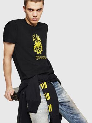 T-DIEGO-A11, Nero/Giallo - T-Shirts