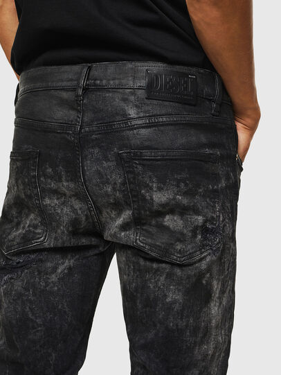 Diesel - D-Strukt 069KE, Nero/Grigio scuro - Jeans - Image 6