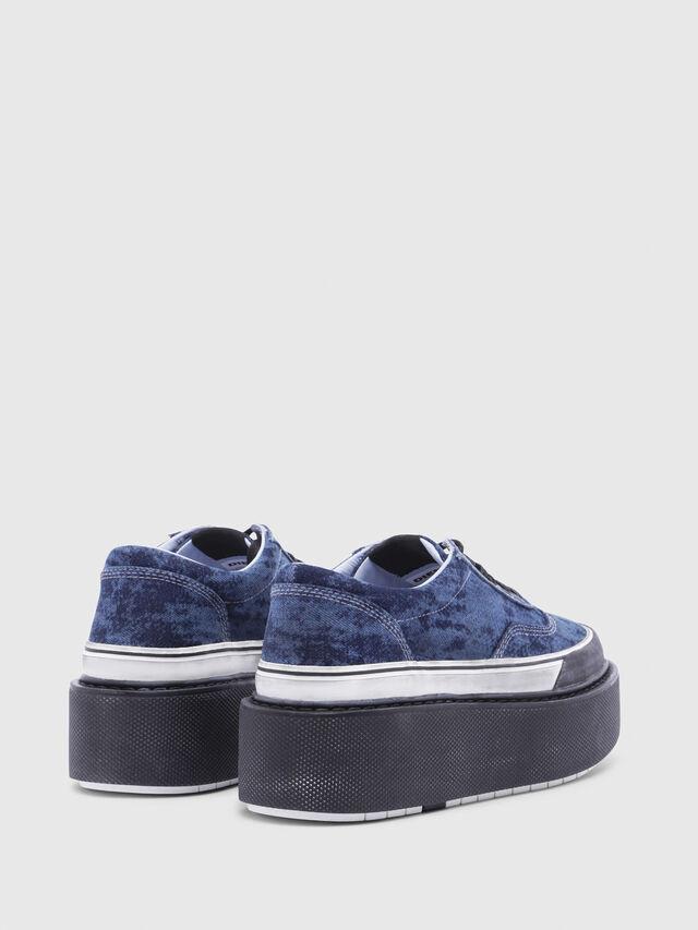 Diesel - H-SCIROCCO LOW, Blu - Sneakers - Image 3