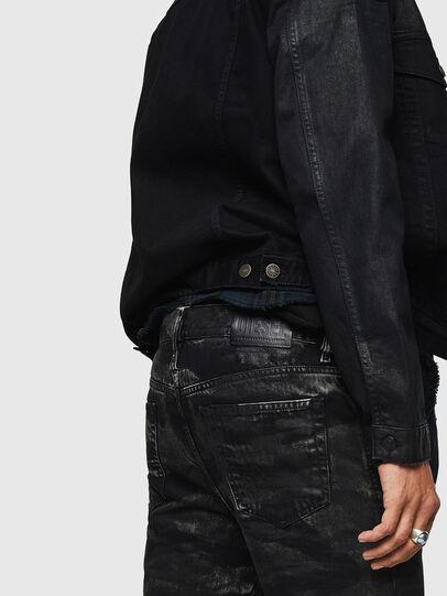 Diesel - Mharky 083AH, Nero/Grigio scuro - Jeans - Image 5