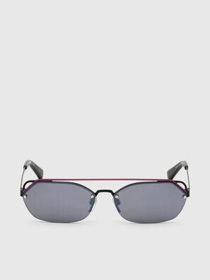 DL0313, Nero/Viola - Occhiali da sole