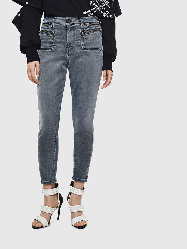 D-Eifault JoggJeans 069LT, Blu Scuro - Jeans