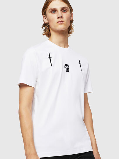 Diesel - TY-X2, Bianco - T-Shirts - Image 1