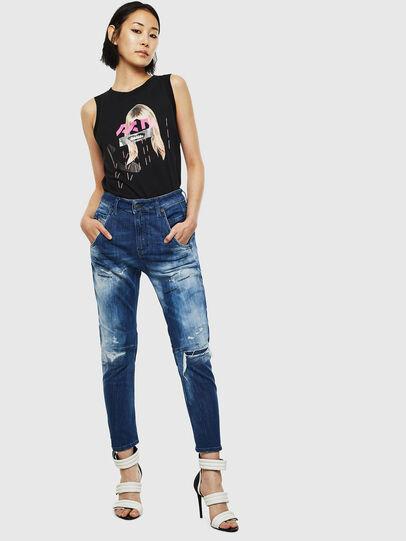 Diesel - Fayza JoggJeans 0099S, Blu Scuro - Jeans - Image 6